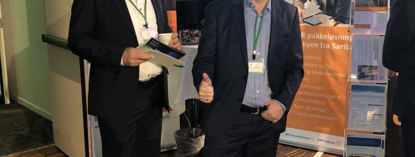 Steinar og Erik på HR Forum. Den menneskelige faktor.