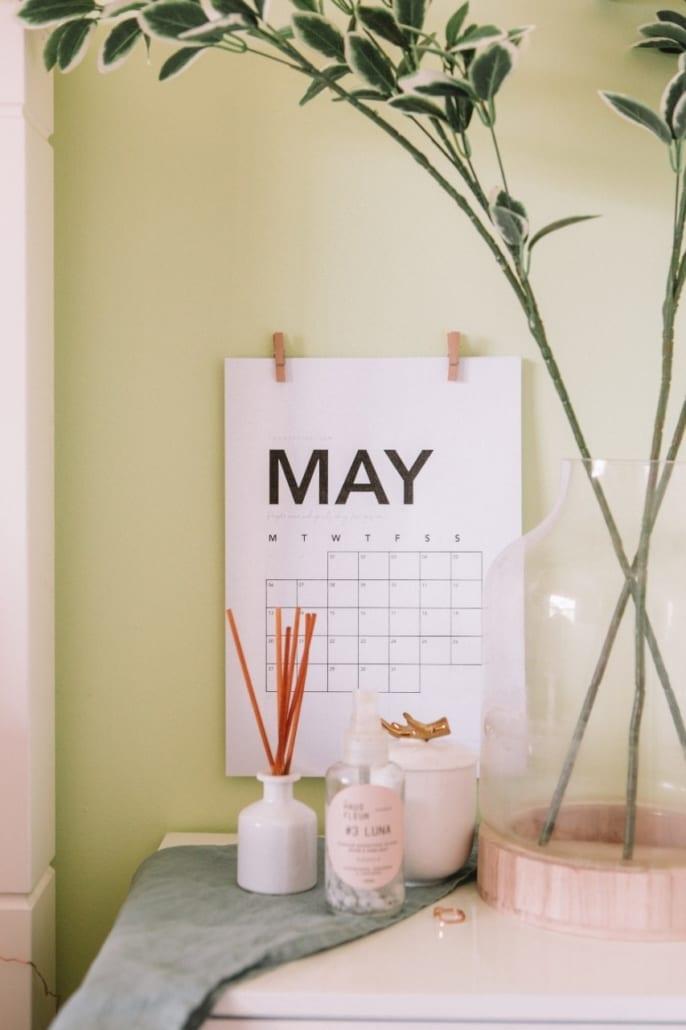 Kalender maimåned. Traff du oss i mai?